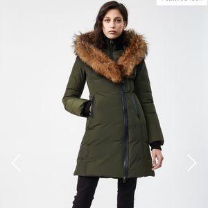 Mackage Kay down coat w natural fur collar